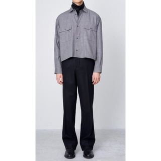 JUHA CROP CHECK SHIRT