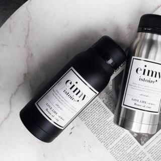 eimy istoire - eimy エイミーイストワール ステンレスボトル BLACK