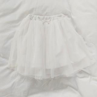 チュールスカート♡ホワイト
