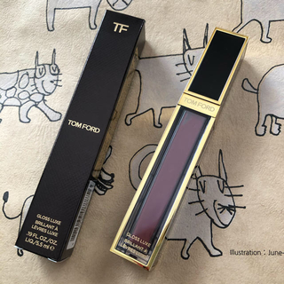 TOM FORD - TOM FORD GLOSS LUXE 04 EXQUISE 箱付き