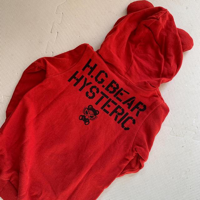 HYSTERIC MINI(ヒステリックミニ)のかもふら🐻 キッズ/ベビー/マタニティのキッズ服 女の子用(90cm~)(ワンピース)の商品写真
