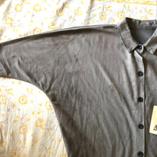 アンティカ(antiqua)のantiqatoy シャツ サイズ3 タグ付き 試着のみ(ブラウス)