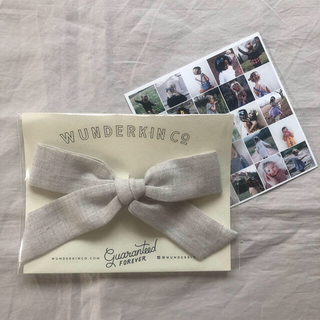 Caramel baby&child  - WUNDERKIN CO リボンヘアクリップ【新品未使用】