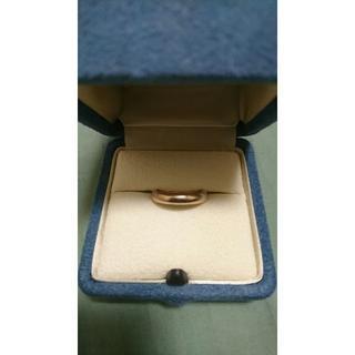 18k ピンクゴールド 4~5グラム 11号 指輪 リング(リング(指輪))