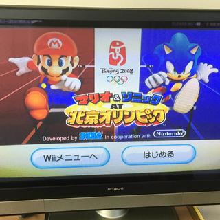 Wii - マリオ&ソニック AT 北京オリンピック Wii