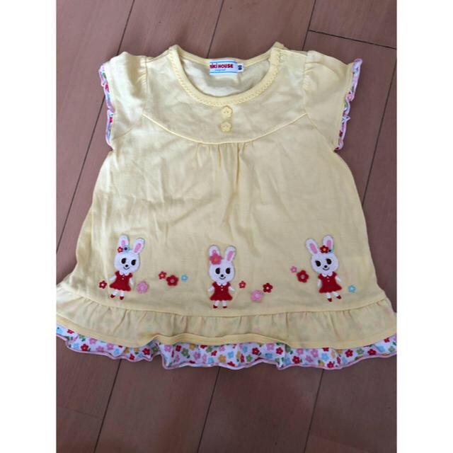 mikihouse(ミキハウス)の2番 ミキハウス チュニック♡ キッズ/ベビー/マタニティのベビー服(~85cm)(Tシャツ)の商品写真