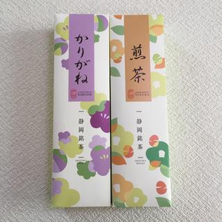 新品 未開封 かりがね 煎茶 日本茶セット