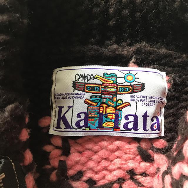 KANATA(カナタ)のKanata カナタ カウチンニット レディースのトップス(ニット/セーター)の商品写真
