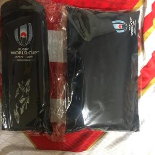 ラグビー ワールド カップ プレミア シート ポンチョ シートクッション