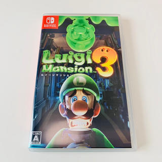 Nintendo Switch - 美品⭐︎ルイージマンション3 Switch