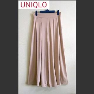 UNIQLO - UNIQLO 美品 スカーチョ ガウチョパンツ