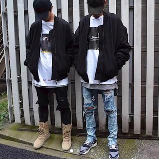フィアオブゴッド(FEAR OF GOD)のHALO TOKYO SWEAT BOMBER JKT CRAY TOKYO(ブルゾン)