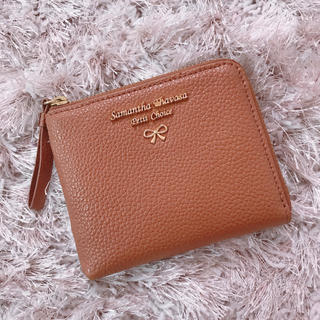 Samantha Thavasa Petit Choice - 本日限定 レア brown card case