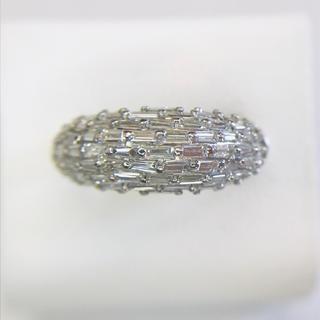 プラチナ製 1.69ct ダイヤ リング(リング(指輪))