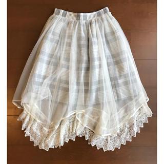 axes femme - レーススカート