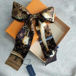 LOUIS VUITTON - 超美品 Louis Vuitton スカーフ バッグ飾り ファッション 正規品