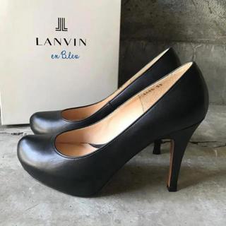 LANVIN en Bleu - ランバン オンブルー レザーパンプス