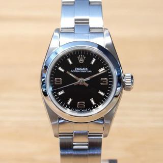 ロレックス(ROLEX)の超美品 ロレックス オイスター パーペチュアル 67180 レディース 時計(腕時計)