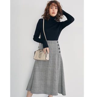 Mila Owen - 正規品 タグ付新品 ボタン付ボンディングスカート