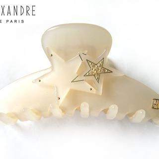 Alexandre de Paris - ☆未使用 美品☆アレクサンドルドゥパリ●星☆モチーフ付きクリップ