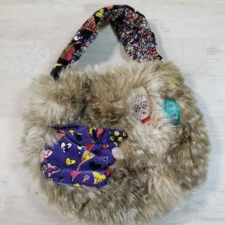 TSUMORI CHISATO - ツモリチサト ふわふわファーハンドバッグ