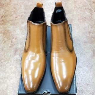 マドラス(madras)の166-2) 26.5cm:新品マドラス紳士ブーツ(ブーツ)