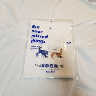 MAISON KITSUNE' - maisonkitsune × adererror コラボ tシャツ
