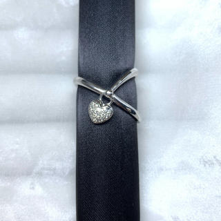 カラッチ  K18WG ダイヤモンド ハート リング(リング(指輪))