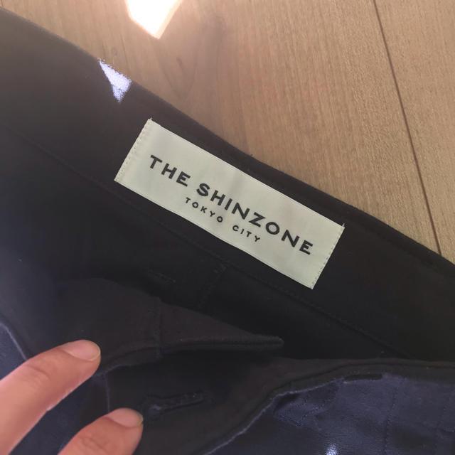 Shinzone(シンゾーン)のシンゾーン美品♡ベイカーパンツ ネイビー34 レディースのパンツ(カジュアルパンツ)の商品写真