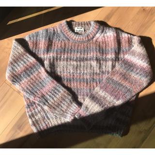 ユナイテッドアローズ(UNITED ARROWS)の二回のみ着用美品♡アクネ ミックスモヘアニット(ニット/セーター)