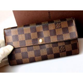 LOUIS VUITTON - ■【良好!】新型サラ 正規本物!★ヴィトン【10枚カード】ファスナー長財布