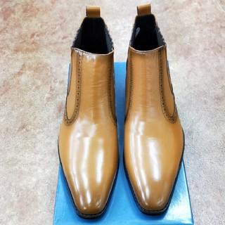 マドラス(madras)の164-2) 25.5cm:新品マドラス紳士ブーツ(ブーツ)