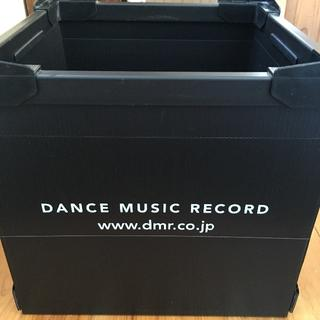 DMR コンテナ レコードボックス 黒 4個セット