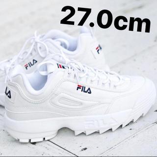 フィラ(FILA)の27.0cm FILADISRUPTOR2 正規品(スニーカー)