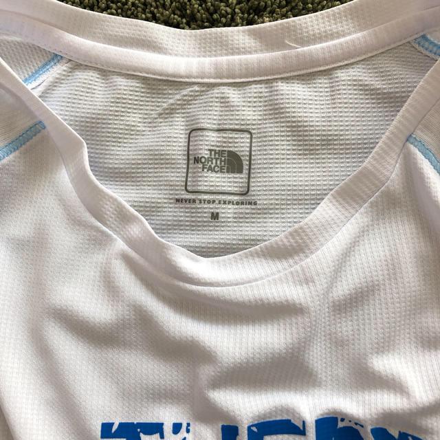 THE NORTH FACE(ザノースフェイス)のノースフェイス レディース 半袖 Tシャツ ウェア ランニング mサイズ スポーツ/アウトドアのランニング(ウェア)の商品写真
