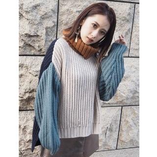 ムルーア(MURUA)の【未使用品】MURUA タートルネックニット(ニット/セーター)
