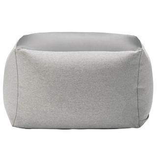 ムジルシリョウヒン(MUJI (無印良品))の無印良品 体にフィットするソファ カバー 綿ニット 杢グレー(ソファカバー)