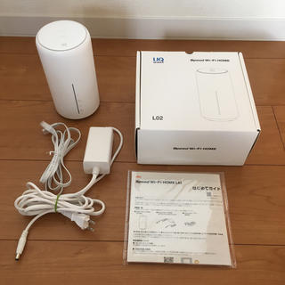 au - Speed Wi-Fi HOME L02 WiMAX