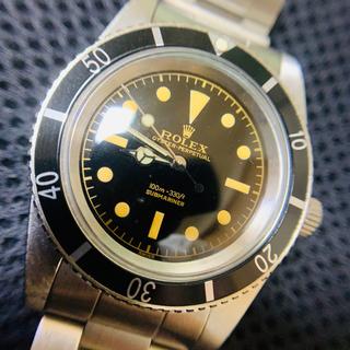 ロレックス(ROLEX)の5508 サブ 防水ケース リューズガード無し 修理用部品等 ミラーダイヤル(腕時計(アナログ))