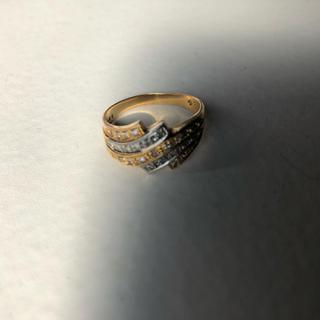 k18 pt900 0.35ct 指輪 リング(リング(指輪))