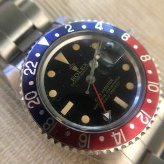 ロレックス(ROLEX)の1675 ヒラメリューズガード 修理用ケース ミラー文字盤(腕時計(アナログ))