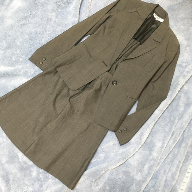NATURAL BEAUTY BASIC(ナチュラルビューティーベーシック)のナチュラルビューティーベーシック☆ s xs スカートスーツ セット レディースのフォーマル/ドレス(スーツ)の商品写真