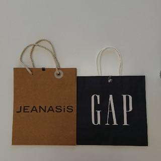 ギャップ(GAP)のGAP&JEANASIS  紙袋(ショップ袋)