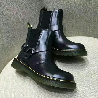 ドクターマーチン(Dr.Martens)の正規品 UK6 ドクターマーチン Dr.Martens ブラック 新品(ブーツ)