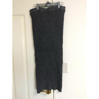 ザラ(ZARA)のzaraロングスカートLサイズ(ロングスカート)