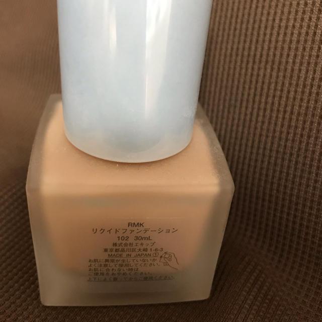 RMK(アールエムケー)のrmk リクイド ファンデーション 102 コスメ/美容のベースメイク/化粧品(ファンデーション)の商品写真