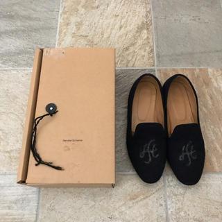 エンダースキーマ(Hender Scheme)のエンダースキーマ  ルームパンプス ネイビー サイズ5 27〜27.5cm(ドレス/ビジネス)