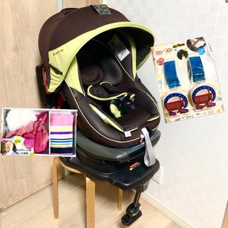 combi - 【美品】コンビ*ラクティアターン*フード付き回転式チャイルドシート/新生児対応