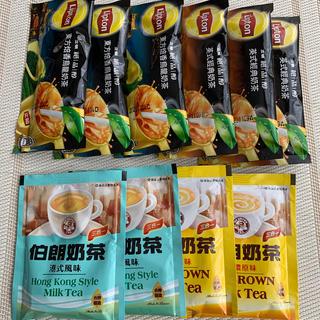 台湾 リプトン & 伯朗奶茶 三合一 飲み比べセット