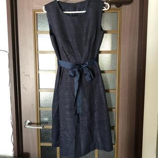 しまむら - ドレス(ネイビー)